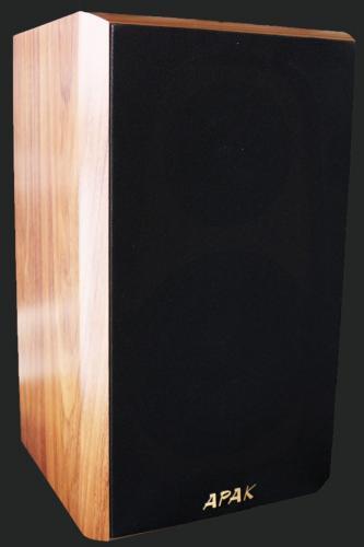 台灣音響精品 APAK 書架型喇叭一對