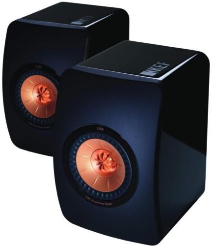 英國 KEF 五十週年紀念 LS50 監聽級書架型喇叭