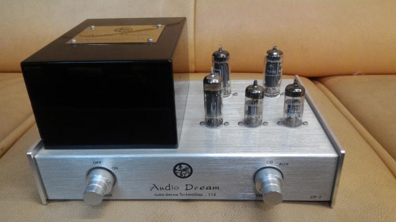 客戶升級出售 一手家用 Audio Dream CP-2 限量版第二代真空管音質處理器