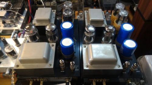 【經典名器】一手家用美國Quicksilver Audio MONO 60W真空管後級擴大機