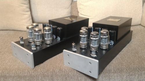 客戶升級出售 台灣音響精品 AUDIO DREAM 150W+150W MONO 真空管後級擴大機一對
