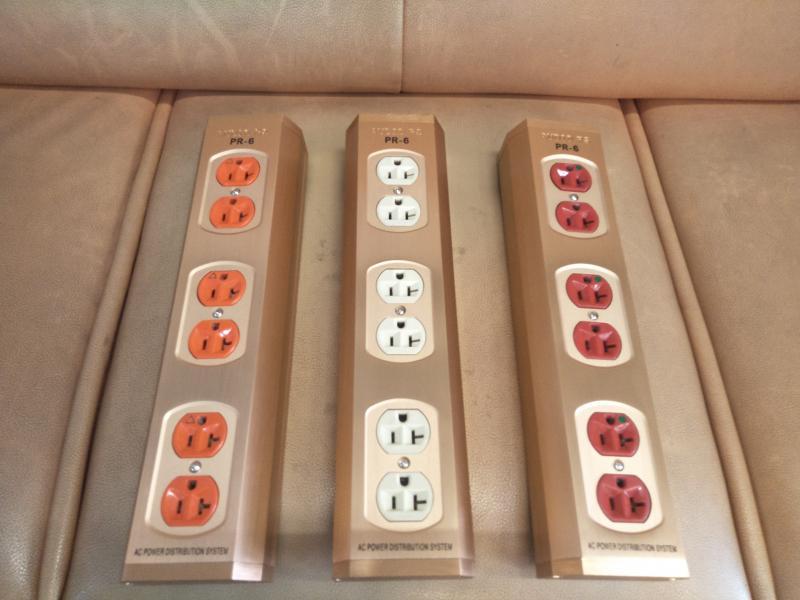 夢幻音響科技 PS 6孔 Power Box 電源盒 電源排插 電源插座 特殊金銀銅合金配線一組