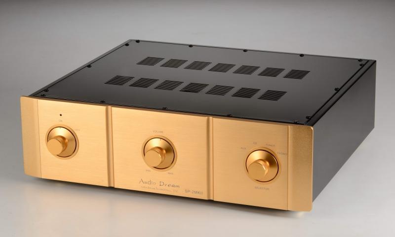 新版 Audio Dream 限量SP-2 SE 旗艦前級擴大機
