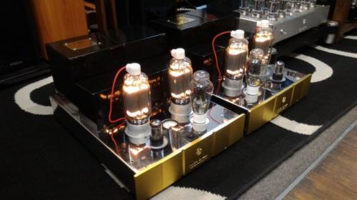 客戶升級出售 Audio Dream 直熱式813功率管 純A類100W MONOBLOCK 旗艦級真空管後級
