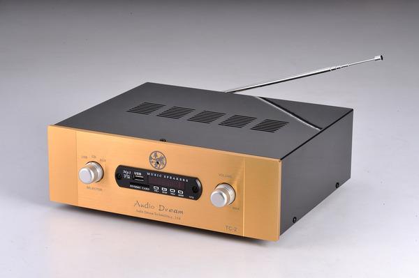 新版 TC-2 前管後晶綜合擴大機 內含FM收音 MP3 SD卡 數位流功能